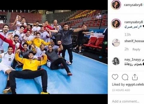 محافظ القاهرة يشيد بأداء لاعبي منتخب الناشئين لكرة اليد