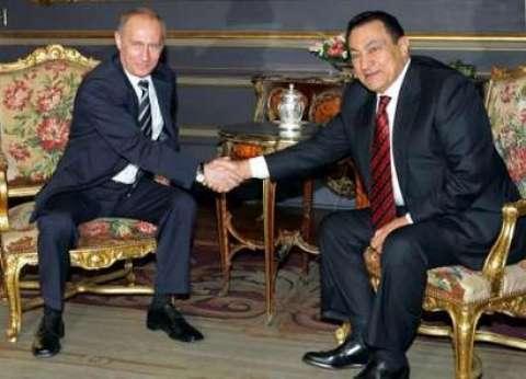 """قبل زيارته لمصر.. حكاية زيارة """"بوتين"""" الأولى للقاهرة"""