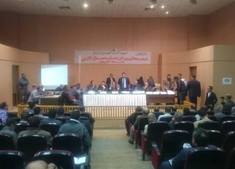 «الريف المصرى» تنظم أول قرعة علنية لتوزيع أراضى المرحلة الأولى لمشروع الـ1.5 مليون فدان