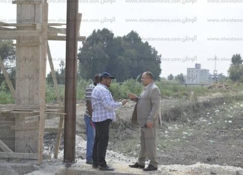 بالصور| مساعد محافظ كفر الشيخ يتابع تنفيذ مشروعات المحافظة