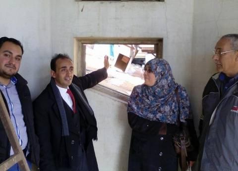 """مدير آثار الإسكندرية يتفقد """"قصر السلاملك"""" للكشف عن أسرار السراديب السفلية"""