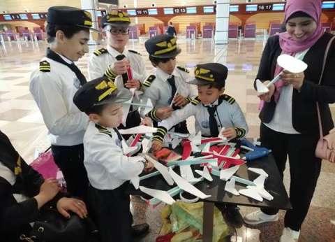 ورشة محاكاة لتصنيع الطائرات للأطفال بمطار الغردقة الدولي