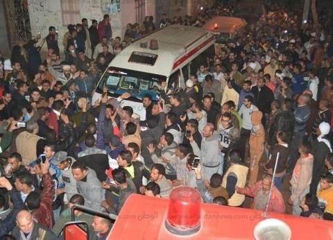 الآلاف يشيعون جنازة شهيد سيناء الملازم وليد صديق لمثواه الأخير بالمحلة