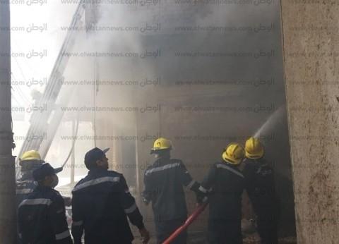 مصرع ربة منزل وابنتها وإصابة آخرين في حريق شقة سكنية بسوهاج