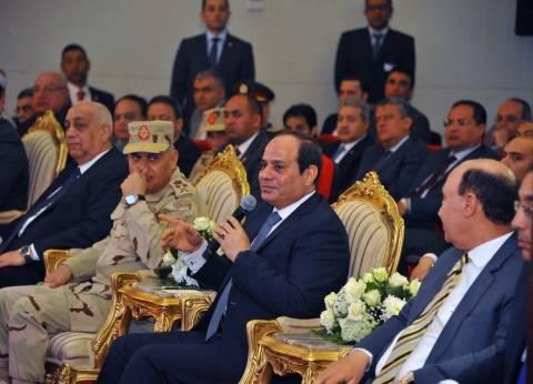 بالصور| تفاصيل زيارة الرئيس السيسي لمنطقة شرق بورسعيد اليوم