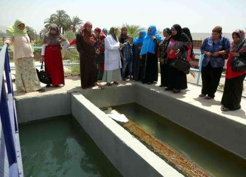 مياه سوهاج تستهدف الرائدات الريفيات بأخميم لنشر الثقافة المائية