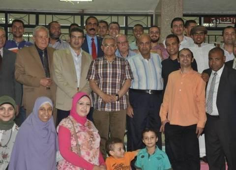 رئيس جامعة المنيا يحضر إفطارا جماعيا نظمته كلية السياحة