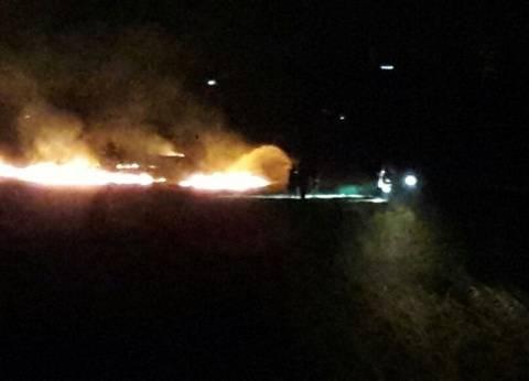 """اندلاع حريق ضحم في ميناء بـ""""نيو جيرسي"""" الأمريكية"""