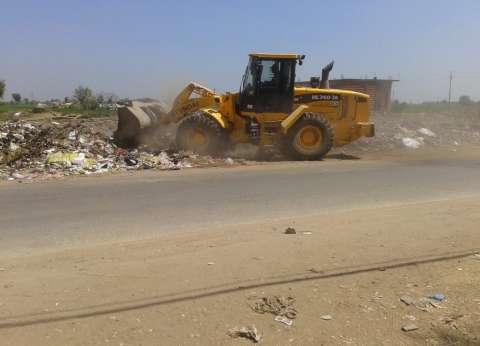 محافظ الدقهلية: تكثيف حملات رفع القمامة والمخلفات بكافة المراكز