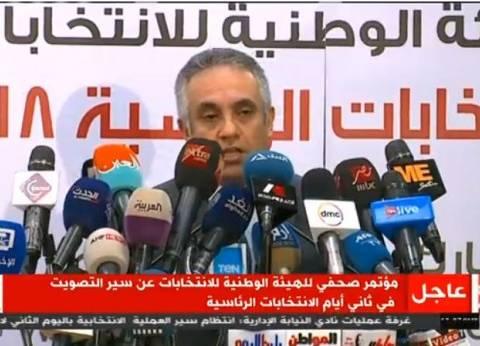 """""""الوطنية للانتخابات"""": صادفت بعثة الجامعة العربية صعوبات وساعدناهم فورا"""