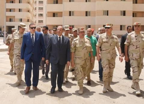 """محافظ الإسكندرية يتفقد مشروع """"بشائر الخير 2"""" تمهيدا لافتتاحه"""