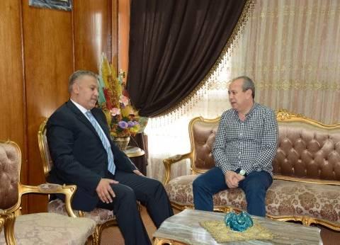 محافظ دمياط يهنئ الأتربي لترقيته لمنصب المحامي العام الأول