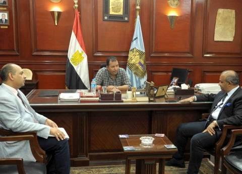 محمد بدر يبحث إنشاء سلاسل تجارية في محافظة الأقصر