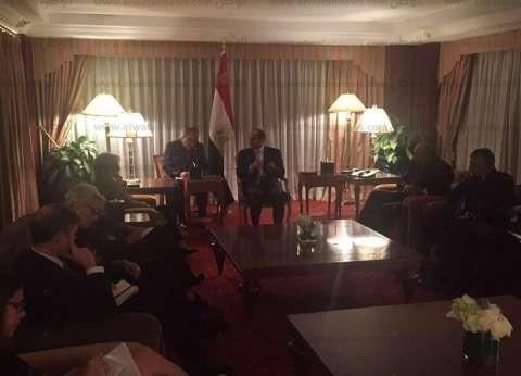 """أبو طالب: كلينتون وترامب يقدمان رؤى دبلوماسية جيدة لمصر ولكن """"بقيود"""""""