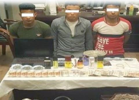 ضبط تشكيل عصابي تخصص في سرقة المساكن بالقاهرة الجديدة