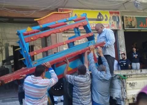 حملة لإزالة التعديات والإشغالات في حي شرق بالإسكندرية
