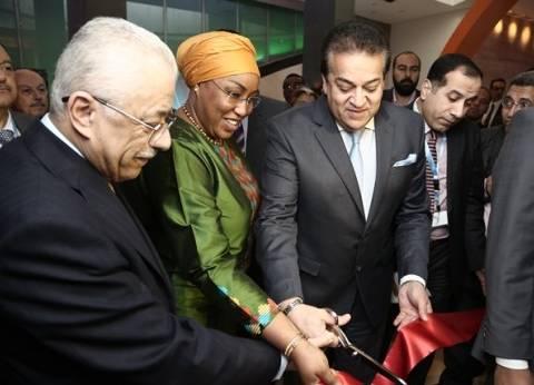 مدير البنك الأفريقي: هدف معرض التكنولوجيا الاستفادة من التجربة المصرية