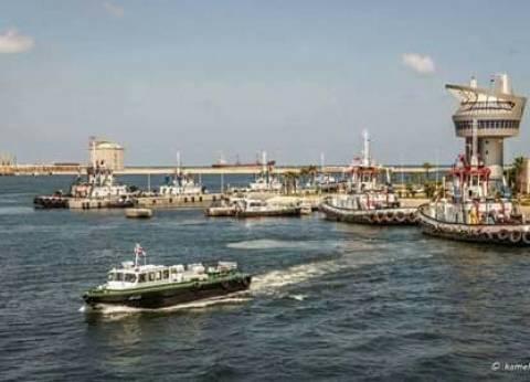 176 ألف طن قمح رصيد صومعة الحبوب والغلال بميناء دمياط
