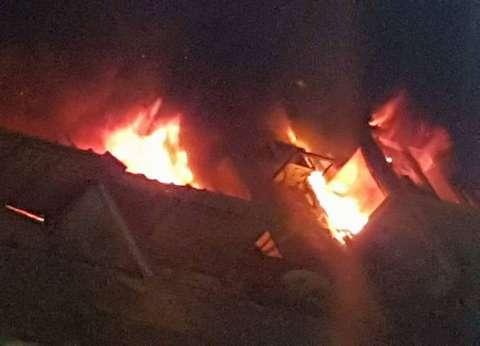 السيطرة على حريق محدود في شقة سكنية بعين شمس