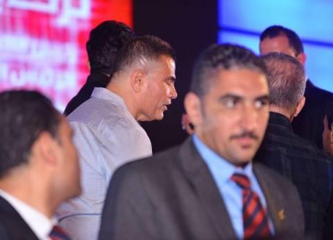 بالصور| وصول عمرو دياب لاستاد القاهرة لحضور حفل افتتاح بطولة تركي آل الشيخ