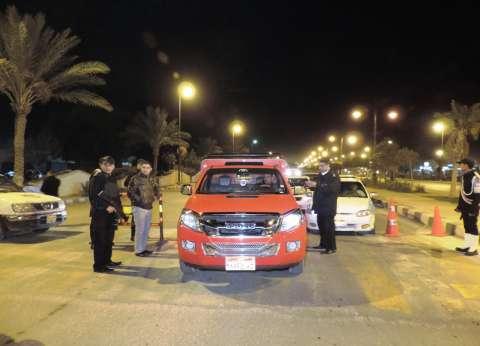 ضبط 4 سائقين سائقين يتعاطون مخدرات أثناء القيادة في المنيا