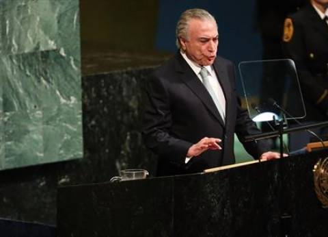 رئيس البرازيل يدعو السيسي لزيارة بلاده خلال لقائهما بالأمم المتحدة