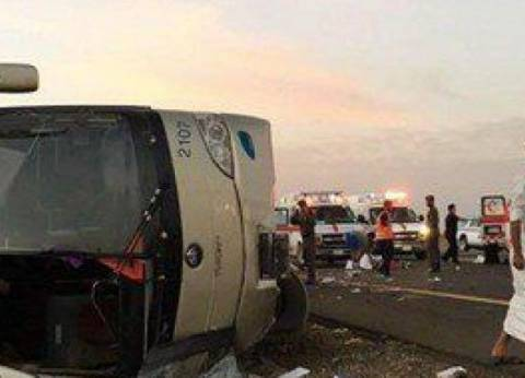 مصرع 11 وإصابة 40 في حادث سير بالسعودية