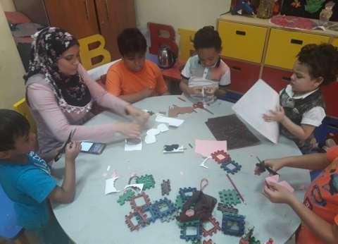 ورش فنية ومحاضرات للأطفال بثقافة إقليم القاهرة الكبرى