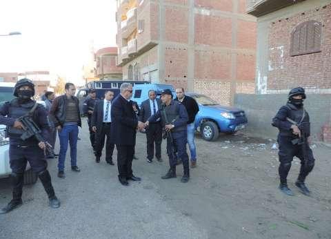 """ضبط 66 محكوما عليه وتنفيذ 353 حكما قضائيا في حملة بـ""""أبشواي"""" في الفيوم"""