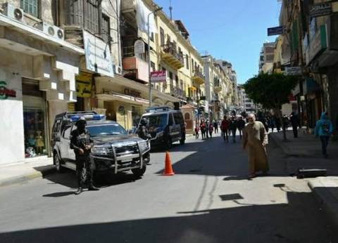 إجراءات أمنية مشددة بكنائس الإسكندرية تزامنا مع عيد الميلاد المجيد