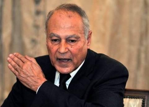 أبوالغيط يبحث مع المبعوثين الأممي والأفريقي التنسيق المشترك حول الأزمة الليبية