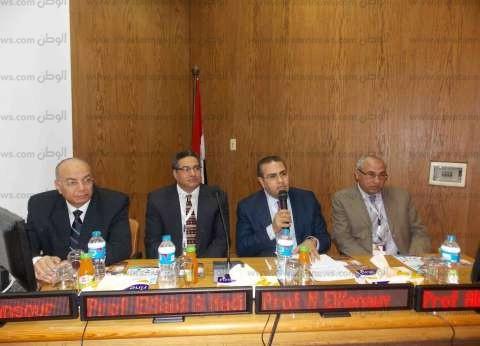 بالصور  افتتاح مؤتمر طب الأطفال التكاملي في جامعة المنصورة