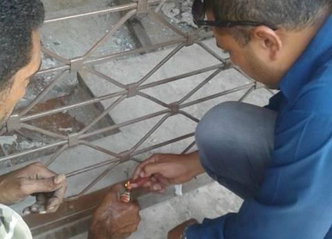 غلق محلات دون ترخيص في شارع طلعت حرب وقصر النيل