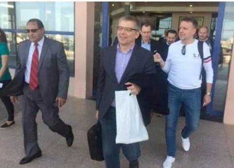 وزير السياحة البولندي يصل مرسى علم للمشاركة في مؤتمر السياحة البولندية