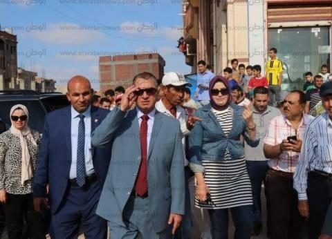 بالصور  محافظ كفر الشيخ يتفقد موقع إنشاء سوق برج البرلس