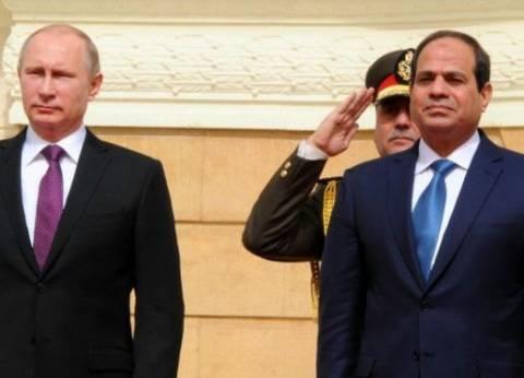 """سياسي روسي: """"بوتين والسيسي"""" يقفان مع الحقوق الشرعية للفلسطينيين"""