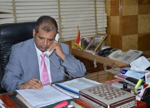 رئيس مدينة المحلة يوجه بإزالة أكوام القمامة بمحطة الترحيلات