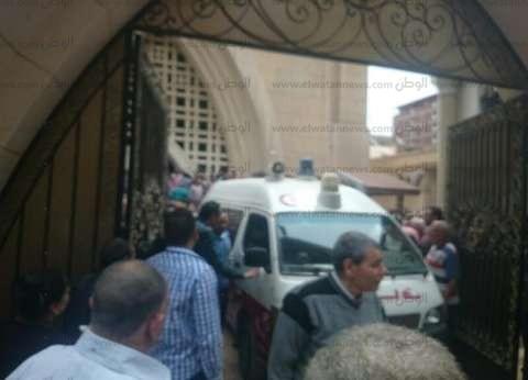 بالفيديو| اللحظات الأولى لحادث تفجير كنيسة طنطا