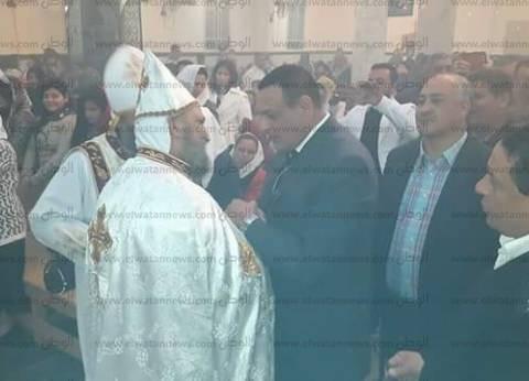 رئيس مدينة سفاجا يهنئ الأقباط بعيد الميلاد
