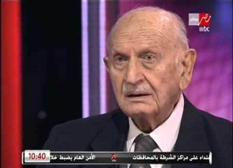 وفاة الدكتور إبراهيم بدران رئيس المجمع العلمي عن عمر ناهز 80 عاما
