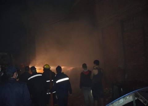 وصول 4 مصابين في حريق بمركب صيد جنوب أسوان للمستشفى الجامعي
