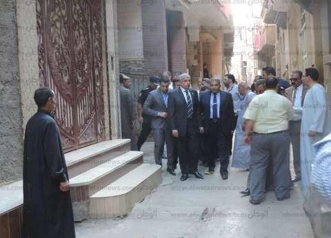 مدير أمن الغربية يقدم واجب العزاء في ضحايا الطائرة المكنوبة