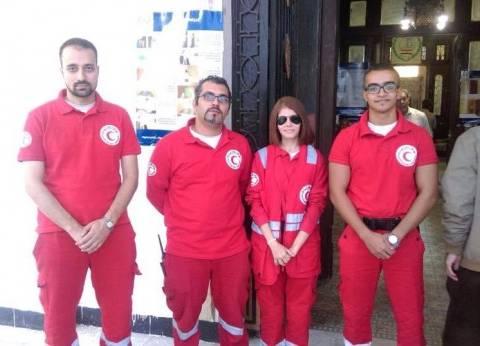 """""""الهلال الأحمر"""" ينشر 70 فرقة تدخل سريع لتأمين الانتخابات في محافظات المرحلة الثانية"""