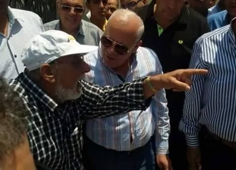 محافظ بورسعيد من حي الشرق للمواطنين: لا ندخر أي جهد في الخدمات