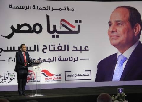 «حملات دعم السيسى» تتوحّد تحت مظلة «الحملة الرسمية» خلال فترة الدعاية الانتخابية