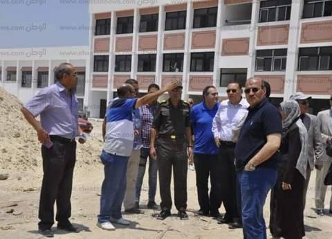رئيس جامعة القناة: الانتهاء من إنشاءات مباني الجامعة في موعدها