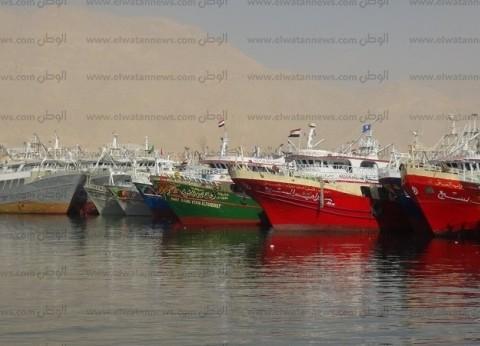 غلق بوغاز البرلس بسبب سوء الأحوال الجوية في كفر الشيخ