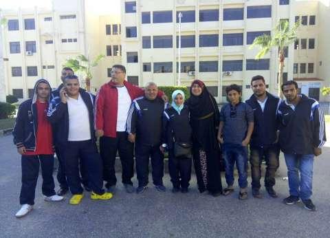 11 ميدالية لفريق متحدي الإعاقة بجامعة الزقازيق في بارالمبياد الجامعات المصرية