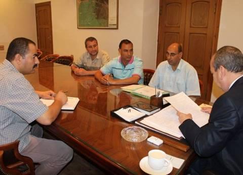 محافظ دمياط يصدر قرارا بنقل أصول محطة الصرف الصحي لشركة المياه