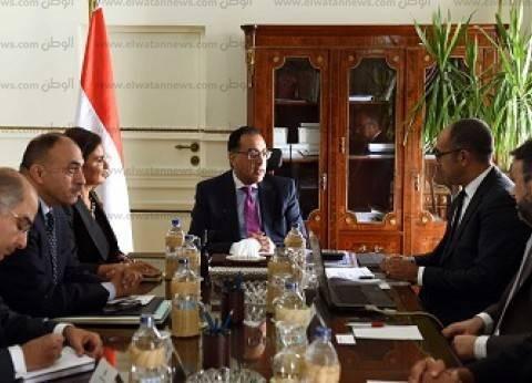"""""""مدبولي"""" يلتقي """"العبار"""" رئيس مجلس إدارة """"إعمار"""" لبحث الاستثمار في مصر"""